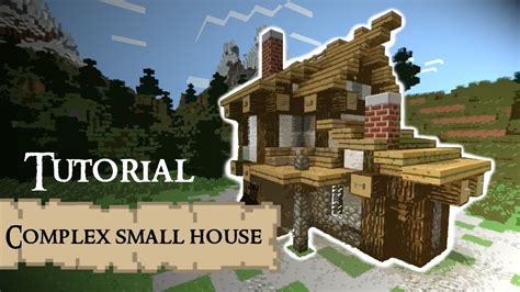 complex small house medieval minecraft tutorial youtube