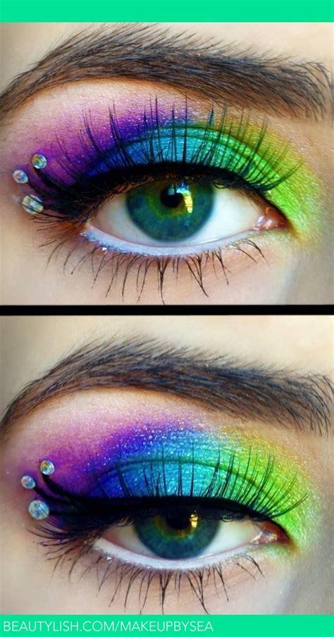 peacock makeup sarah  makeupbysea photo beautylish