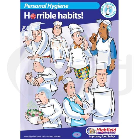 hyg a cuisines personal hygiene horrible habits food safety direct