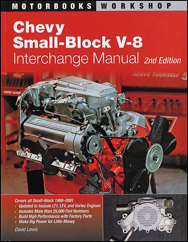 small engine repair manuals free download 1968 chevrolet camaro auto manual 1968 2001 chevy small block v8 engine parts interchange manual 400 350 305 lt1 ebay