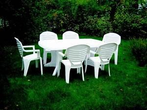 Allée De Jardin Pas Cher : table de jardin pas cher en plastique l 39 habis ~ Premium-room.com Idées de Décoration