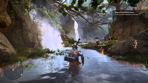 dragon age inquisition  hinterlands map