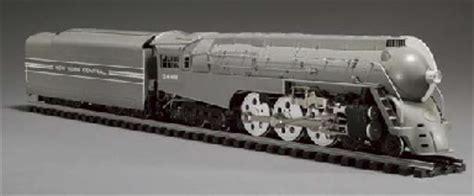 A New York Central Dreyfus Hudson 4 6 4 Streamlined Steam