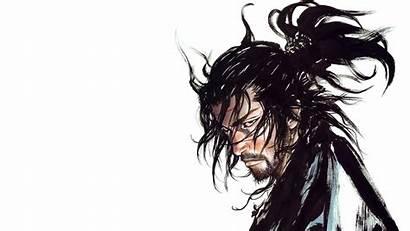 Vagabond Manga Musashi Anime Wallpapers Hair Drawing