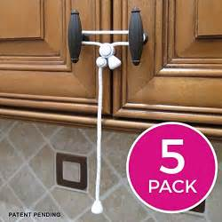 kiscords baby safety cabinet locks for knobs child safety cabinet latches for home safety strap