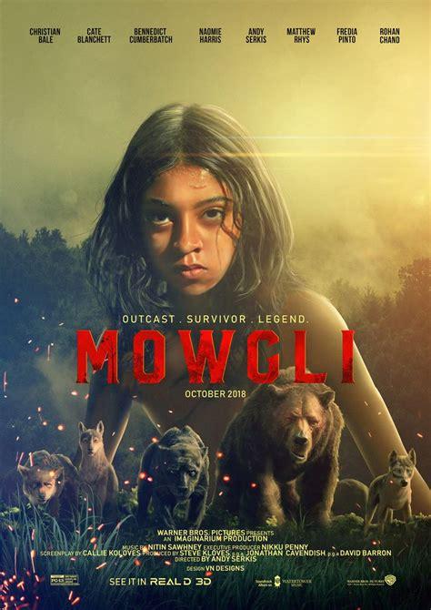 mowgli  film poster design  behance   film