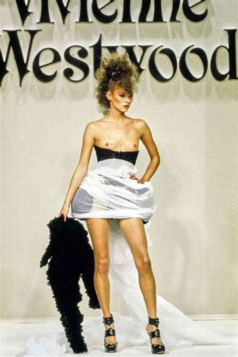Naked Models Take The Runway Naked Runway Moments From The 90s