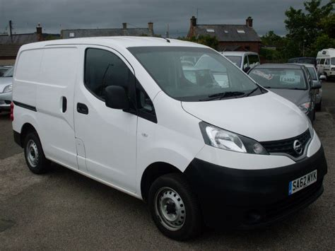 nissan nv200 used white nissan nv200 for sale dumfries and galloway