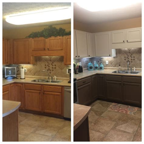 accessible beige kitchen cabinets painted honey oak cabinets before and after valspar