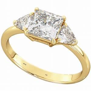 wedding engagement bridal band princess trillion cut 3 With trillion cut wedding rings