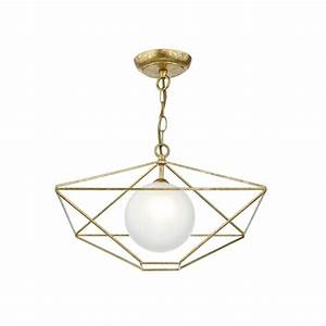 Dar lighting orsini single light ceiling pendant in old