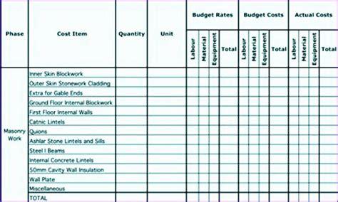 job estimate template excel excel templates excel