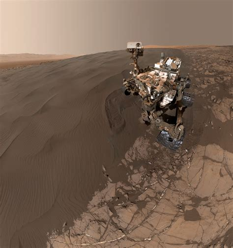 Sandy Selfie Sent from NASA Mars Rover | Mars News