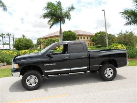 purchase used 2004 dodge ram 2500 laramie cab diesel 4x4 clean and well cared for in fort