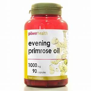 Power Health Evening Primrose Oil 1000mg 90 Capsules