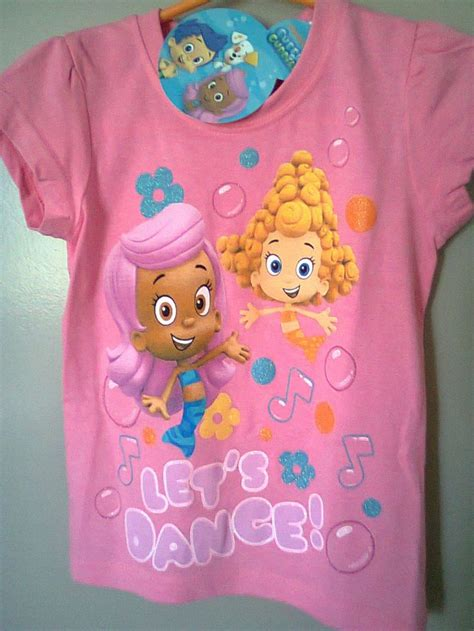 nwt bubble guppies t shirt size 4 molly and deema let s
