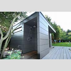 Charakteristisch Für Dieses Moderne Holz Gartenhaus Ist