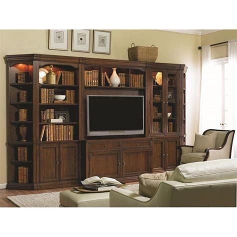 hooker furniture cherry creek entertainment wall unit