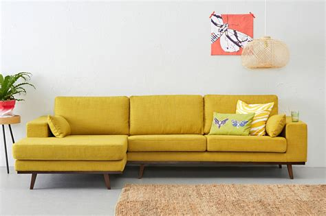 yellow settee yellow sofa a for your living room