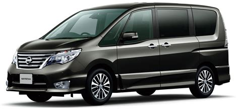 nissan serena  hybrid facelift unveiled  tokyo