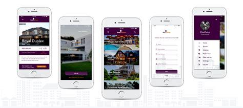 designed  mobile app  real estate ux planet