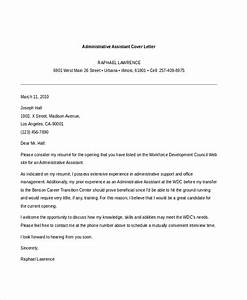 Sample administrative assistant cover letter 7 free for Examples of cover letters for administrative assistant jobs