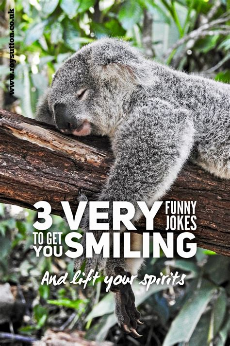 3 Very Funny Jokes To Get You Smiling Roy Sutton