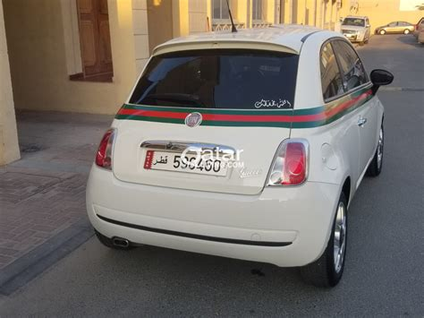 The first time this car was announced in 2006, but officially it was launched only in 2007. Fiat 500 Gucci edition | Qatar Living