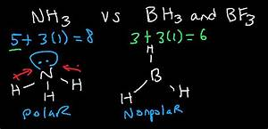 Why Is Nh3 Polar But Bh3 And Bf3 Is Nonpolar