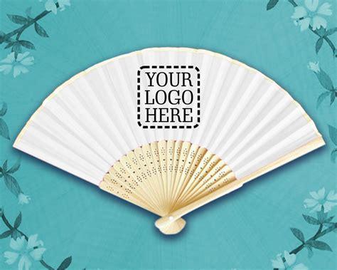 custom printed fans for weddings custom printed silk hand fans