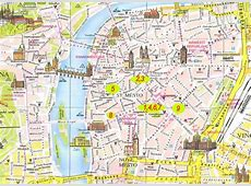 mappa di Praga, Guida Praga, Mappa metro, Mappa citta` di