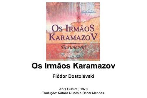 baixar os irmaos karamazov
