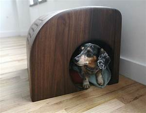 modern indoor dog house by bklyn bcn design dog milk With pit stop dog bed