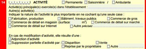 Modification De Code Ape by Comment Faire Une Adjonction D Activit 233