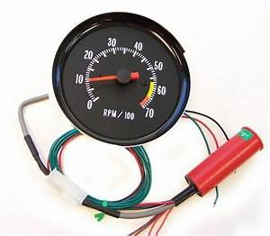 1971 1972 Chevelle Ss Shiftworks In Dash Tachometer White