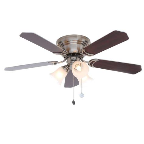 java led ceiling fan home decorators collection pendersen 42 in led indoor