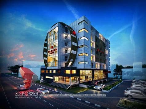 spectacular  hotel exterior rendering  elevation