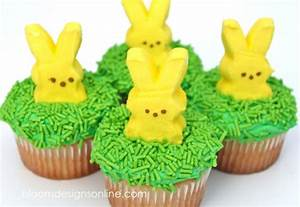 Make It MondayEasy Easter Cupcakes Bloom Designs