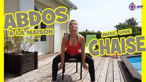 abdos fitness avec une chaise 224 la maison