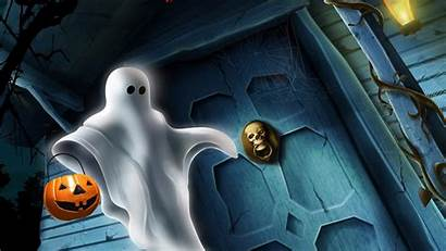 Halloween Ghost Desktop Wallpapers Background Backgrounds Ghosts
