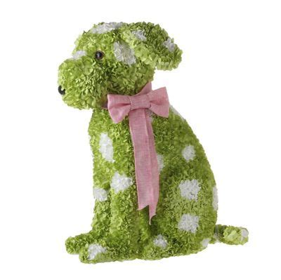 pin  rebecca jones  puppy party polka dots pink