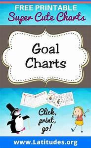 Free Printable Goal Charts For Kids Acn Latitudes