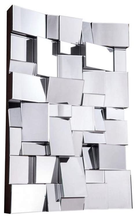 modern mirror by lighting contemporary wall