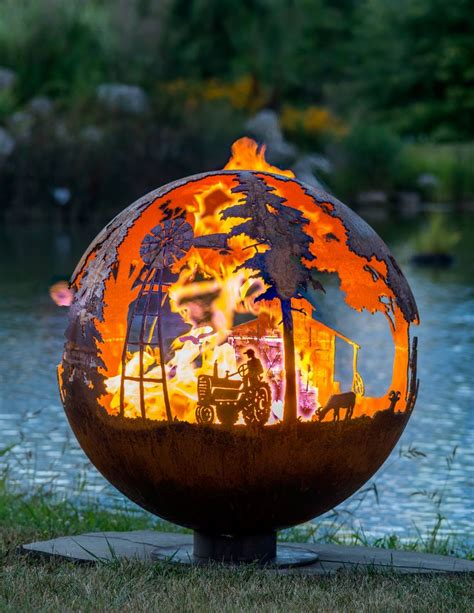 50 Best images about Artistic Fire Pits by artist Melissa ...