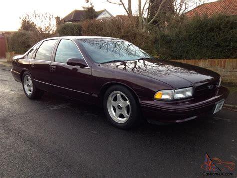 accident recorder 1996 chevrolet caprice security system 1996 chevrolet impala ss lt1 350 v8 44k fsh american muscle car corvette engine