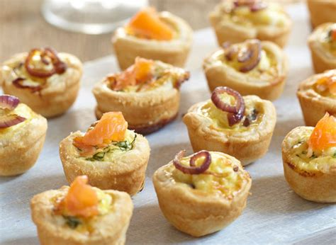 filo pastry cases canapes mini salmon and dill pastry recipes jus rol