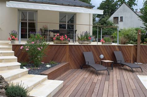 Amenagement Terrasse Piscine Extérieure 2212 by Paysagiste Cr 233 Ation Jardins Saumur Entreprise Berjamin
