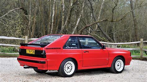 Audi Quattro by Stunning 1986 Audi Sport Quattro Sells For 536 000 At