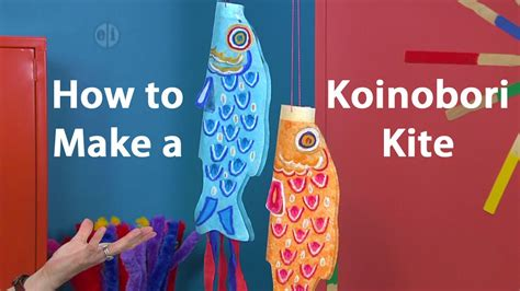 koinobori japanese kite oil pastel tutorial youtube