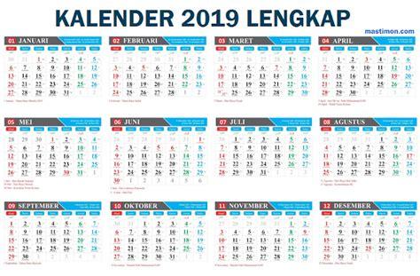 kalender masehi hijriyah indonesia lengkap